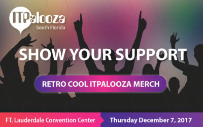 ITPalooza Store Now Open – ShopITP17 20% Discount Code