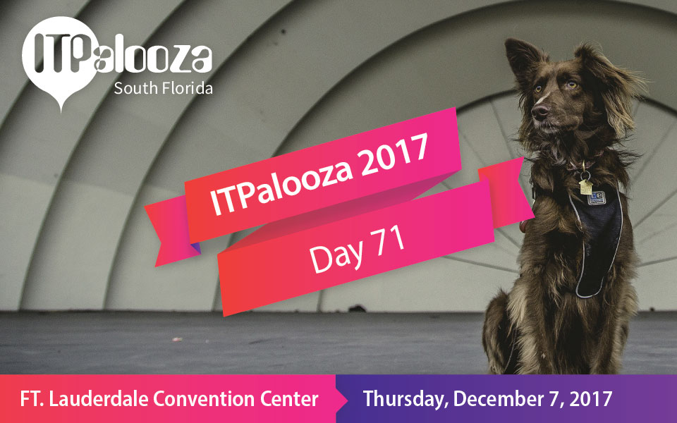 ITPalooza Day 71 – The 3 Top Reasons to Volunteer for ITPalooza