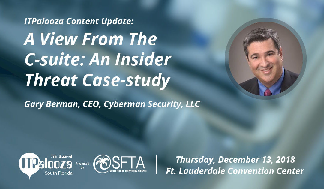 A View from the C-Suite: An Insider Threat Case-Study