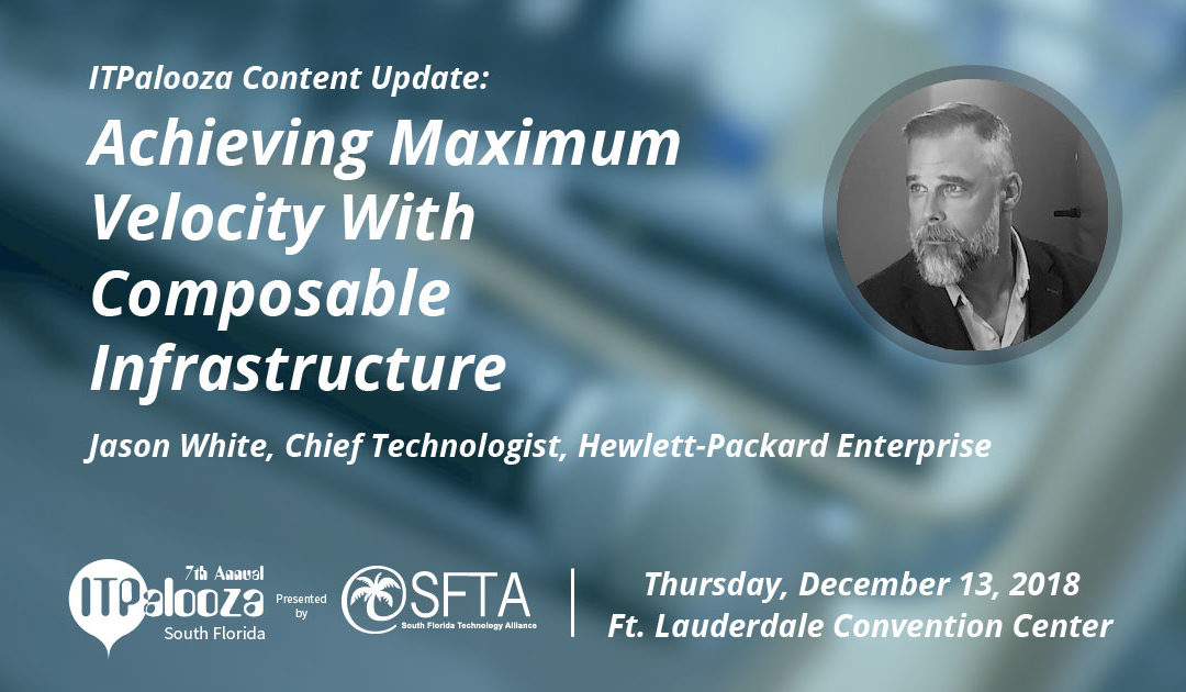 Achieving Maximum Velocity WITH Composable Infrastructure