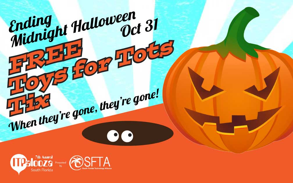 Ending Midnight Halloween – FREE Toys for Tots Tickets
