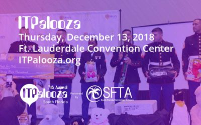 "Help ITPalooza become the ""#1 Toys for Tots Contributor"""