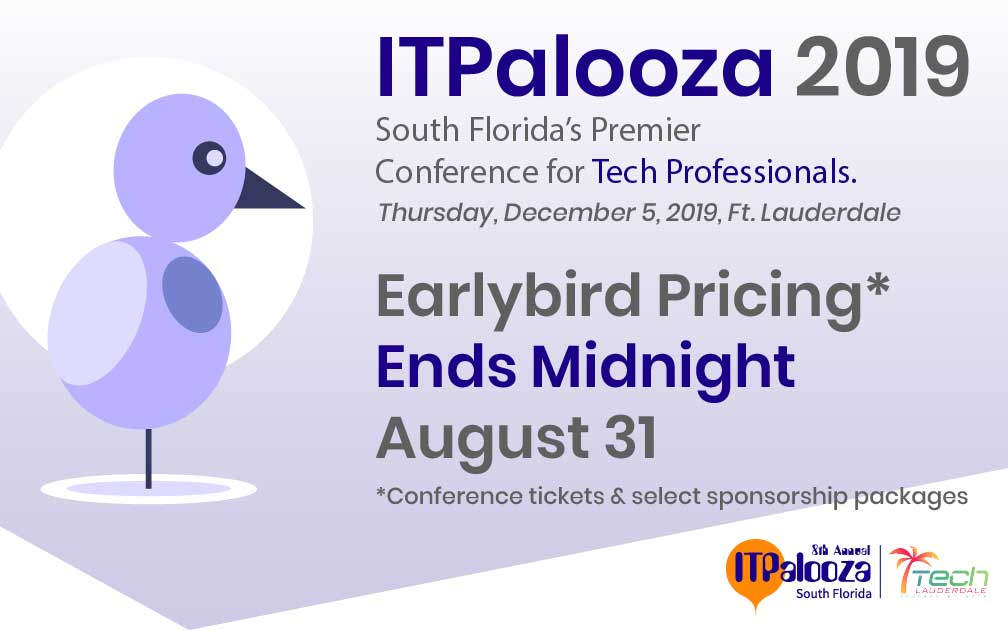 Earlybird Pricing Ends Midnight August 31
