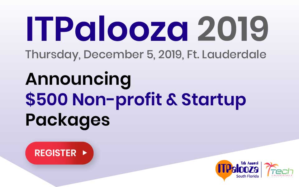 ITPalooza Announces $500 Non-profit & Startup Packages